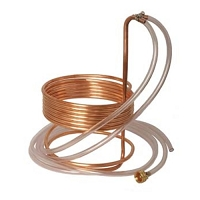 Immersion Wort Chiller - 25 ft. x 3/8 in. with Tubing