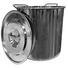 Premium Stainless Steel Stock Pot, 20 qt. with Lid