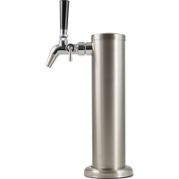 Stainless Steel Draft Tower with Intertap Flow Control Faucet