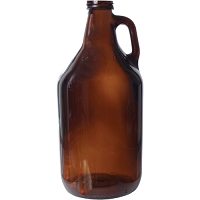 Amber Growler Screw Top - 64 oz