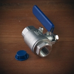 Full Port Ball Valve 1/4