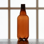 P.E.T. 1/2 Liter Beer Bottle, Case of 24