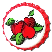 Cherry - Apple Oxygen Absorbing Bottle Caps