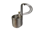 25 feet Compact Stainless Steel Immersion Wort Chiller (3/8