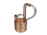 25  Compact Copper Immersion Wort Chiller (3/8
