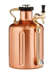 uKeg 128 Pressurized Copper Growler
