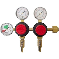 CO2 Regulator (Taprite) - Three Gauge