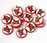 Cherry Bottle Caps (pack of 144)