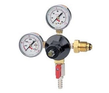 High Pressure Nitrogen Regulator, Double Gauge, 60PSI
