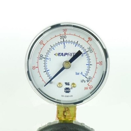 "Gauge 60 LB (1/4"" NPT Right)"