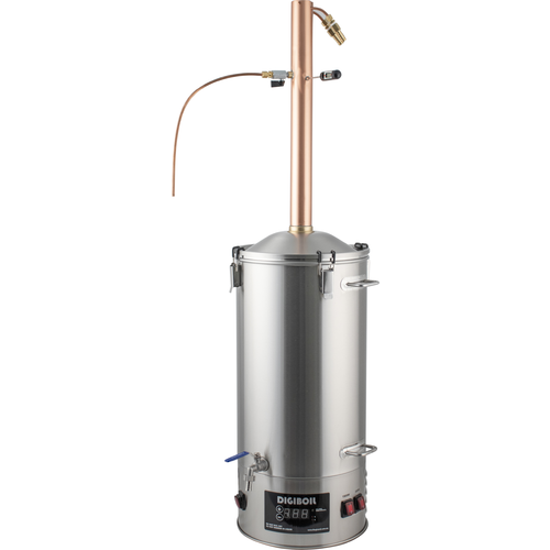 35L DigiBoil Still Kit with Copper Reflux Still Condenser 110V