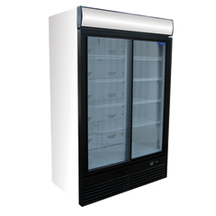 Glass Door Cooler Merchandiser ICESTREAM SUPER LARGE