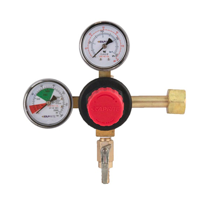 CO2 Regulator (Taprite) - Dual Gauge