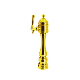 Epic Tower – 1 Faucet – Vibrant Gold Finish – Air Cooled