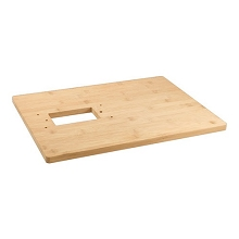 MaltMuncher - Bamboo Base Board for 2 Roll Grain Mill