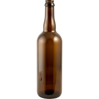 750ml Amber Belgian Style (Bottle Cap Finish) - Case of 12