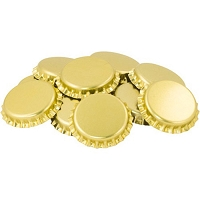 Gold Oxygen Absorbing Bottle Caps