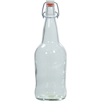 EZ Cap Flip Top Beer Bottles - 32 oz. Clear (Case of 12)