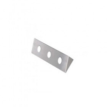 Stainless Steel-3 Hole Under Bar Bracket
