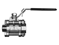 Stainless Steel Ball Valve - 3 Piece