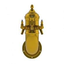 Wall lamp Beer Tower – 3 Faucets – Vibrant Gold Finish – Air Cooled