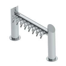 Overpass Tower – 8 Faucets – SS Polished – Air Cooled