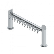 Overpass Tower – 12 Faucets – SS Polished – Air Cooled